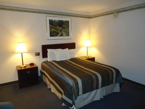 Budget Host Inn & Suites: Our room with Queen Bed room