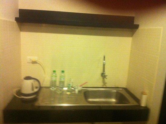 The Natural Resort: Кухонная зона в номере