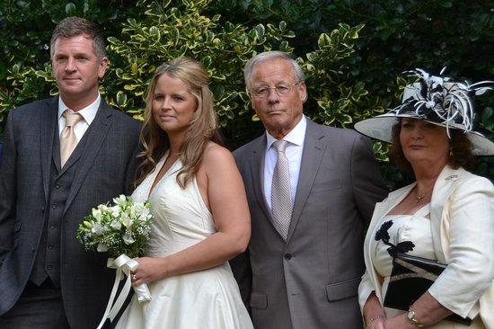 Marmadukes Town House Hotel : Bridegroom Bride, Father bride, Mother bride