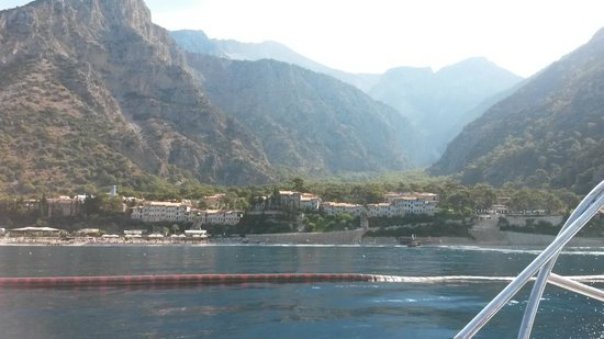 Liberty Hotels Lykia: The resort from the Speedboat