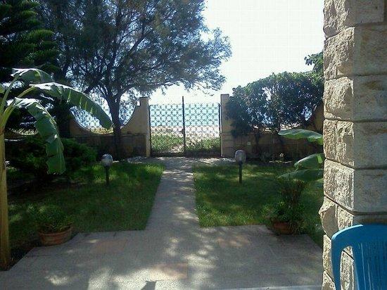 Prospettiva dalla veranda del b b foto di la casa sulla for Design di architettura casa sulla spiaggia