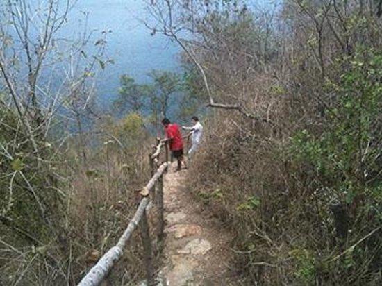 Atitlan Villas: Trail Up The Mountainside