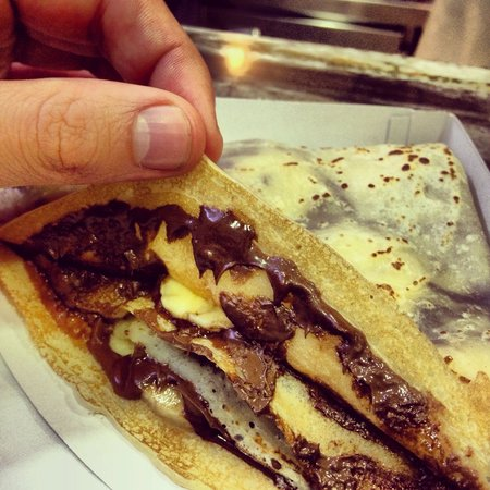 Crepdeque?: nutella banana