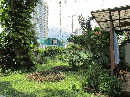San Francisco Inn Hostel Panama: jardin