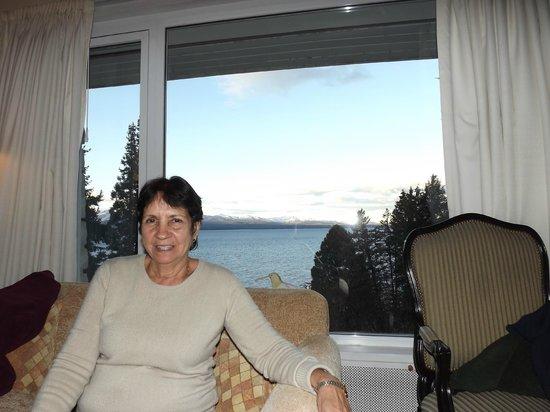 La Cascada Hotel: Vista desde la Habitación