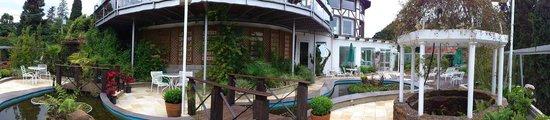 Hotel Estalagem St Hubertus: Área da piscina