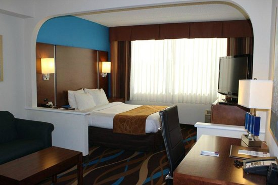 Fort Lauderdale Airport / Cruise Port Inn: Standard room with 1 queen bed and a sofabed