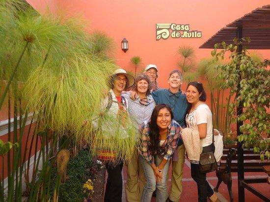 Casa de Avila - For Travellers : Guest at the entrance