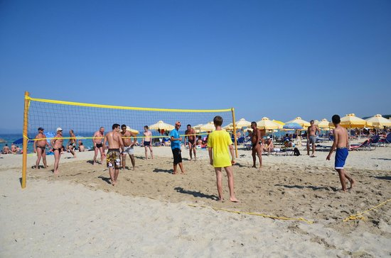 Pallini Beach Hotel: beach volley
