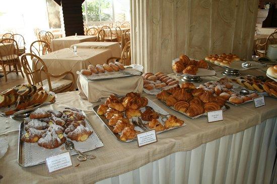 Grand Hotel Elba International: meravigliosa prima colazione