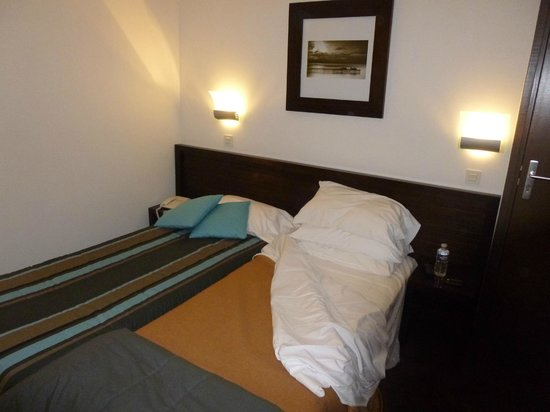 Hotel Lille Europe : chambre