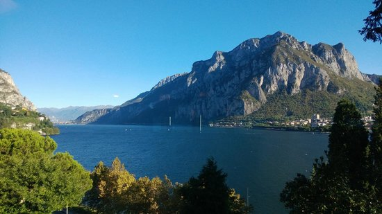 Clarion Collection Hotel Griso Lecco: View from breakfast room