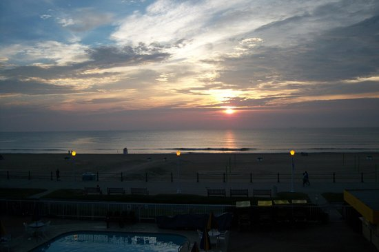 Quality Inn & Suites Oceanfront: view from our balcony