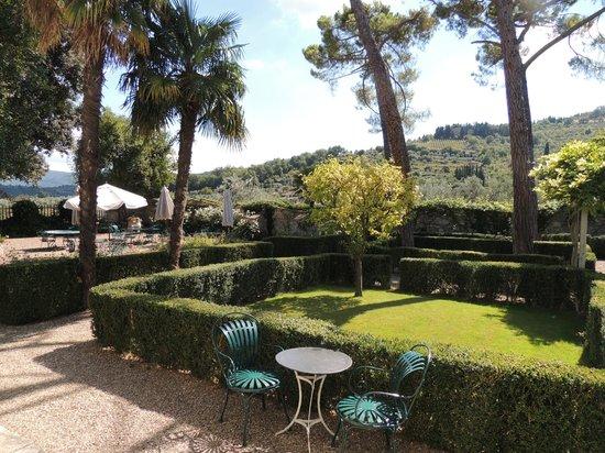 Villa Bordoni: Garden Area