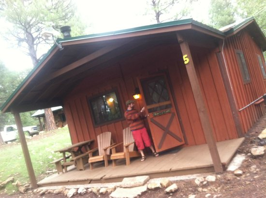 Arizona Mountain Inn & Cabins: Locking up after our fabulous stay!