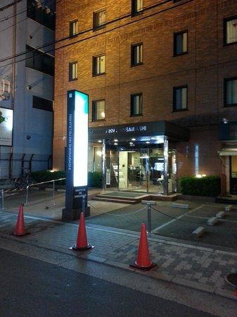 Nishitetsu Inn Shinsaibashi: hotel