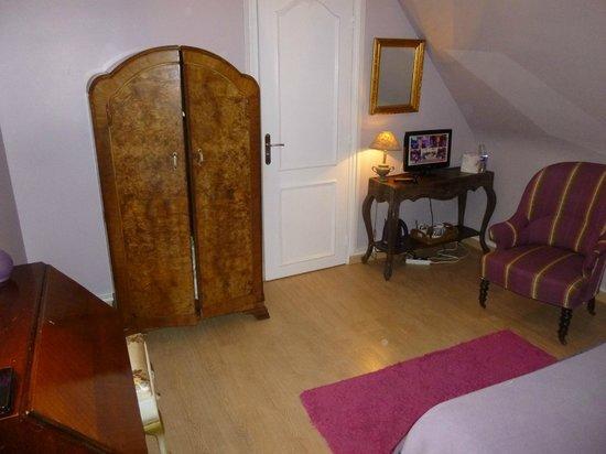 La Maison d'Euphrasie: chambre