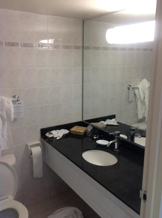 Century Plaza Hotel & Spa: washroom