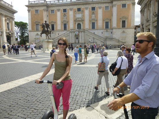 CSTRents Segway Tours: competent and easy tour guide Uberto