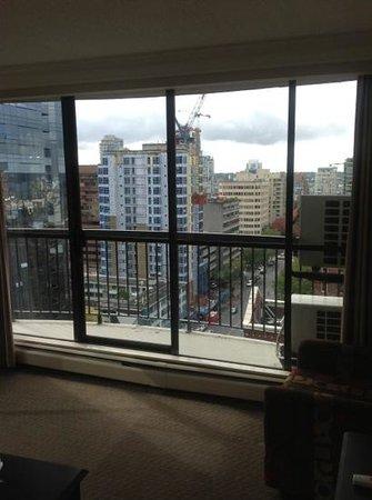 Century Plaza Hotel & Spa: balcony