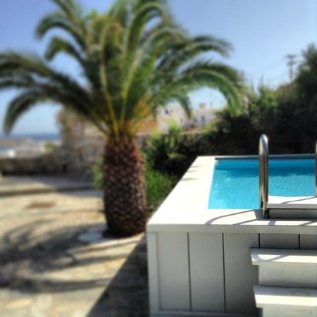 Palladium Boutique Hotel : private terrace and pool