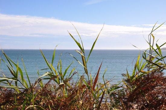 La Table de La Désirade : Vue du sentier côtier