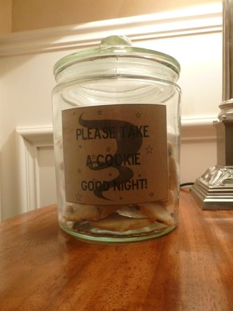 Byfords : Help yourself to a nightime cookie