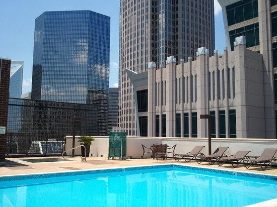 Holiday Inn Charlotte - Center City: Rooftop Pool and Hot Tub