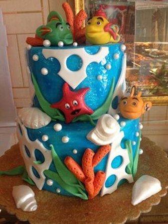 torta da compleanno bimbo   Picture of Pasticceria Mignone, Naples