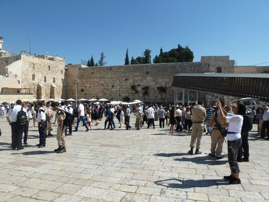 Eva-Israeltours: Klagemauer