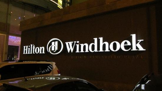 Hilton Windhoek: sign