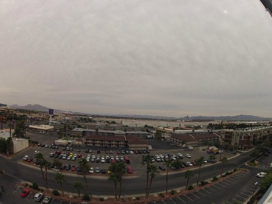 Hooters Casino Hotel: View from the Room to the airport
