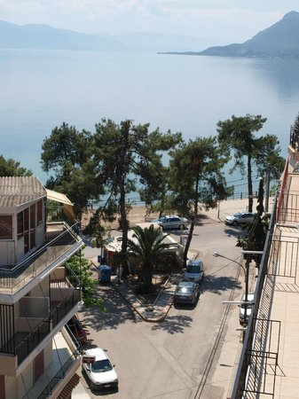 Hotel Efstratios : the sea view