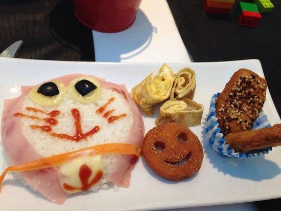 Ibi, إسبانيا: Doraemon Dinner!