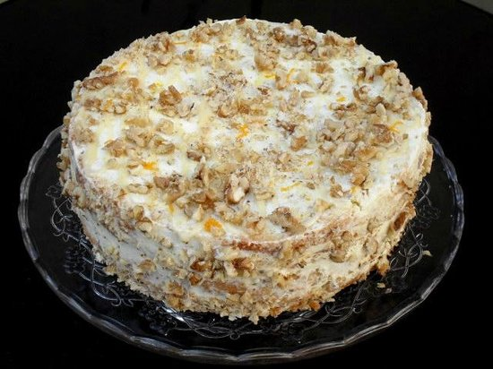 Casa de Castro: Orange and Walnut Cake - Full of flavours!