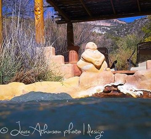 Jemez Hot Springs: Home of The Giggling Springs : Relaxation and Beauty