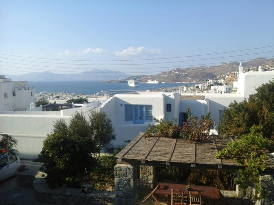 Andriani's Guest House : View from the guest house