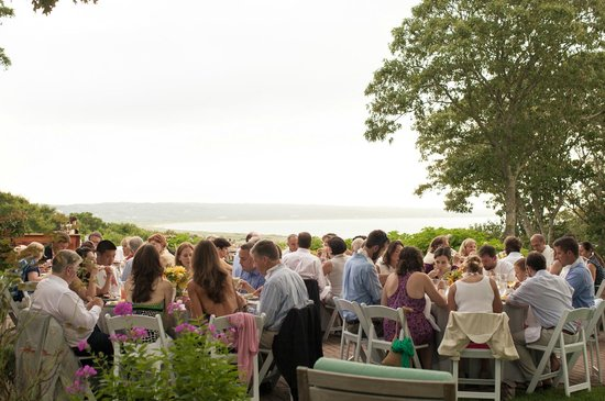 The Beach Plum Inn Rehearsal Dinner On Patio