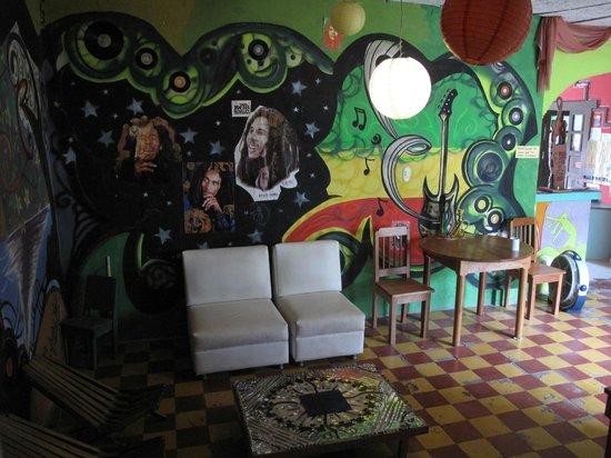Frida's Hostal: Common space