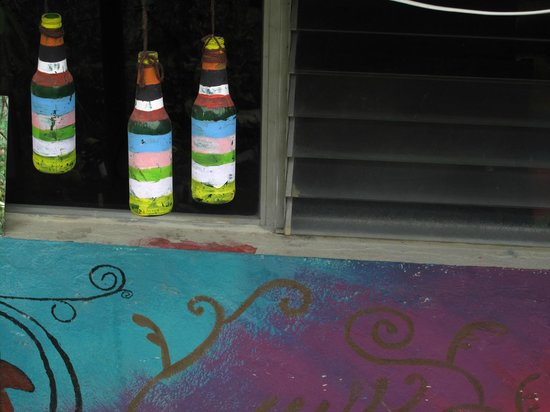 Frida's Hostal: Backyard