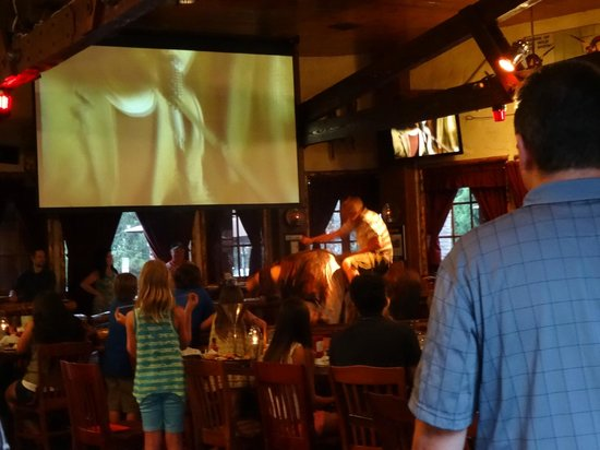 Saddle Ranch Chop House: l'animation