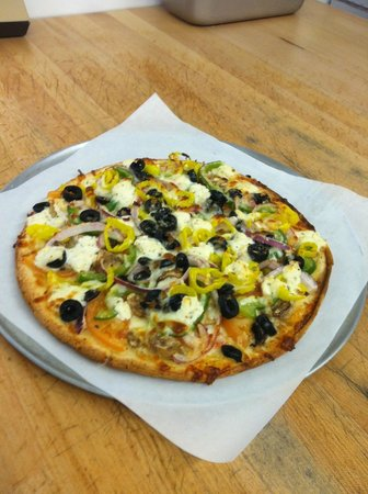 Pizza D's: Gluten Free Crust