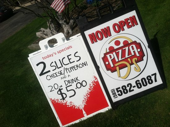 Pizza D's: Best Deal in town
