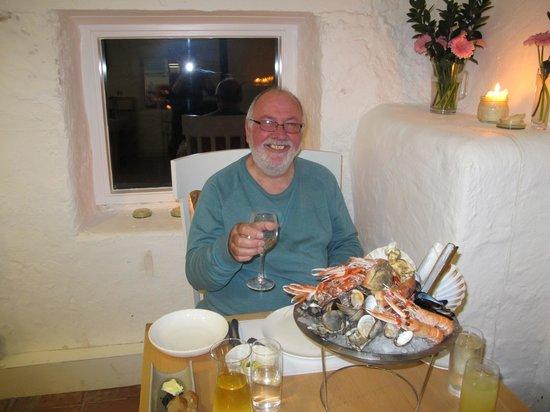 Loch Fyne Oyster Bar Cairndow: Fruits de me