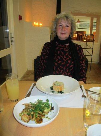 Loch Fyne Oyster Bar Cairndow: A salmon dish