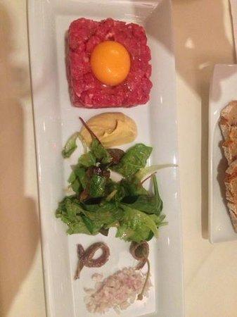 Wilson´s The Prime Rib Restaurant: tartare handgeschnitten