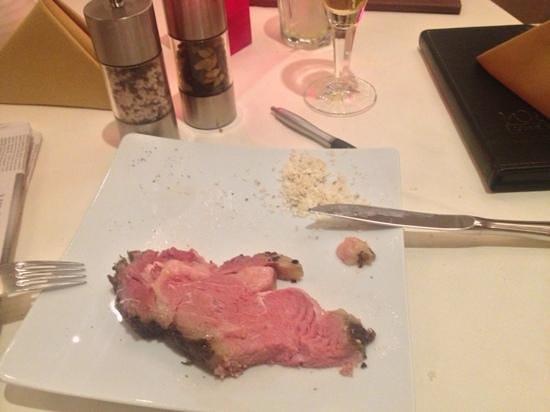 Wilson's - The Prime Rib Restaurant: Prime rib mit Meerrettich