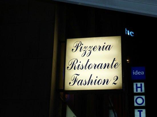 Fashion: вывеска