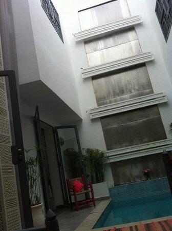 Riad Origines : patio