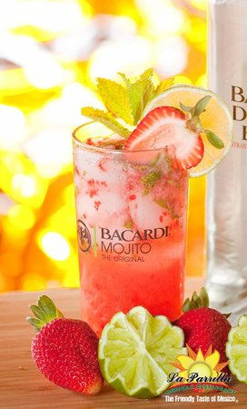 La Parrilla Mexican Restaurant: Dragon Berry Mojito